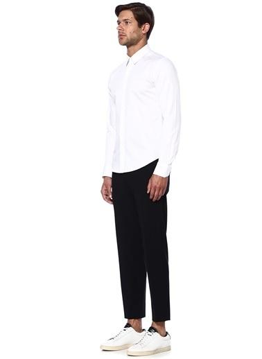 Uzun Kollu Klasik Gömlek-Wooyoungmi
